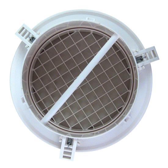 Inline Fan Diffuser ~ Hvacquick airscape mve round plastic diffusers with no