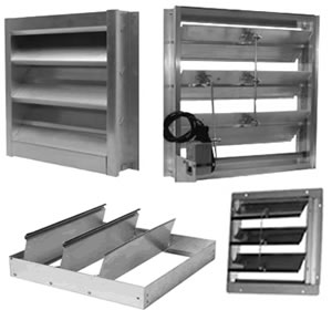 hvacquick dampers and louvers