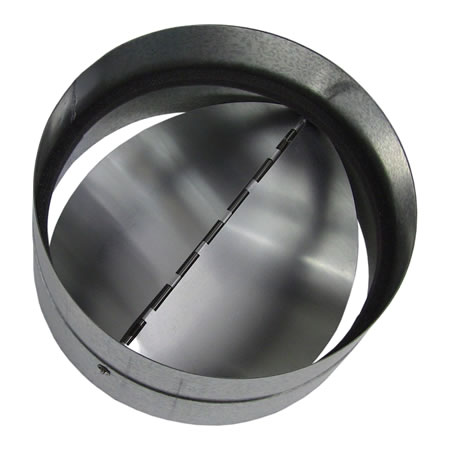 metal backdraft damper