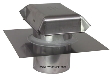 4 inch stainless steel cap