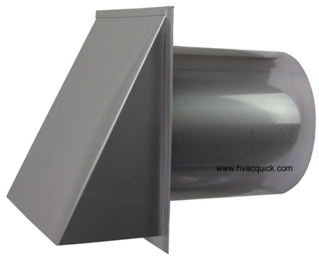 Hvacquick Wall Hoods Stainless Steel