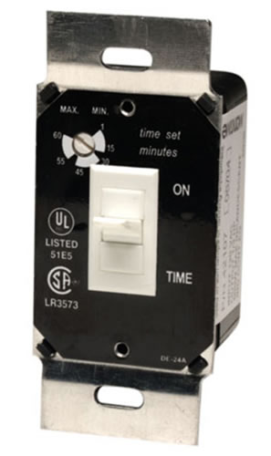 Hvacquick Marktime 42e Series Fan Light Time Delay