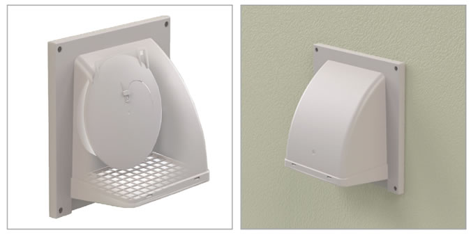 Hvacquick Primex Sm Series Surface Mount Wall Vents