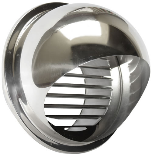 Hvacquick Seiho Sfx S Series Stainless Louvered Vent
