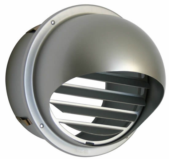 Hvacquick Seiho Sfz And Sfzc Series Louvered Dryer Vent Caps