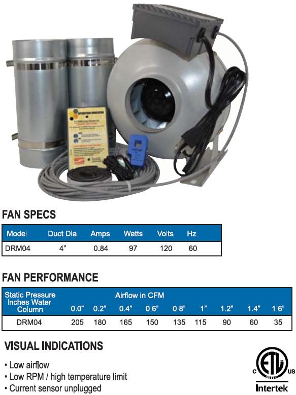 Hvacquick Suncourt Centrasense Drm04 Dryer Booster Kit