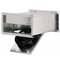 hvacquick fantech frd inline rectangular low profile duct fans fantech frd inline rectangular low profile duct fans
