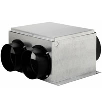 Hvacquick Fantech Cvs Series Multi Port Exhaust Fans