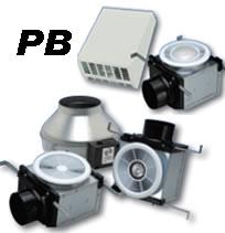 Hvacquick Fantech Pb Bathroom Exhaust And Light Kits