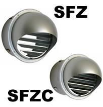 Hvacquick Seiho Sfz And Sfzc Series Louvered Dryer Vent Caps