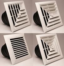Hvacquick Airtec Series Mv Ceiling Diffusers And Grilles