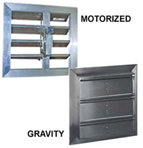 HVACQuick - Canarm Leader Motorized and Gravity Dampers for