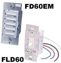 Hvacquick fantech fan timers for Residential exhaust fans for bathrooms
