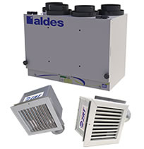 Hvacquick Aldes Ventzone Zoned Iaq With Heat Recovery Kits