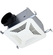 Hvacquick S P Pc Series Premium Choice Ceiling Mounted Bathroom Fans With Dc Motors